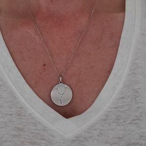 Swarovski Crystal Taurus Pendant